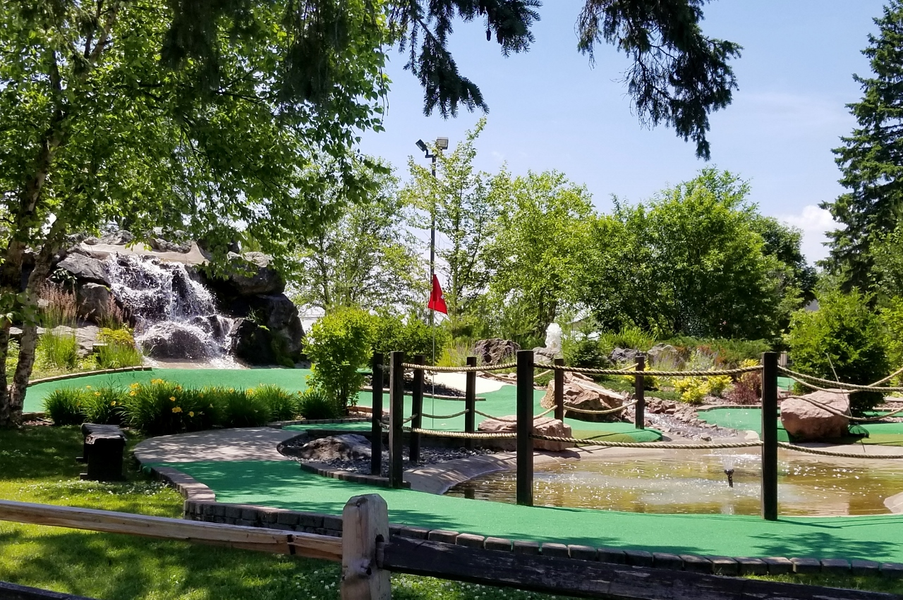 Mini golf in Hayward Wisconsin