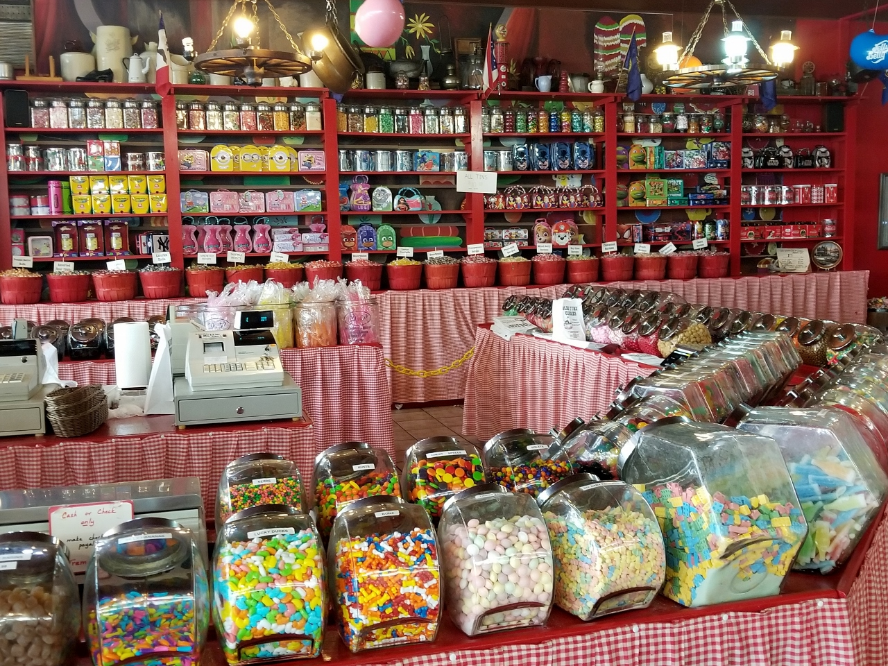 Tremblays candy store in Hayward Wisconsin