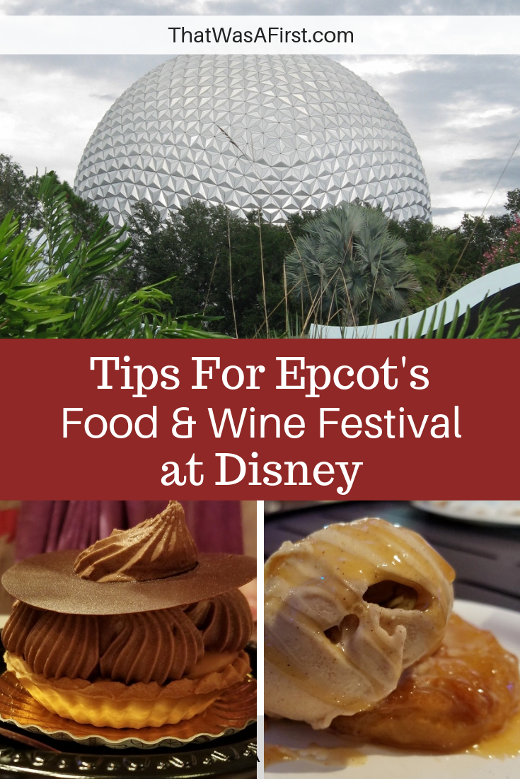 Bringing the family to Epcot's International Food and Wine Festival at Disney? Read these tips to have a fun trip! #Disney #epcot #wine #florida #thatwasafirst