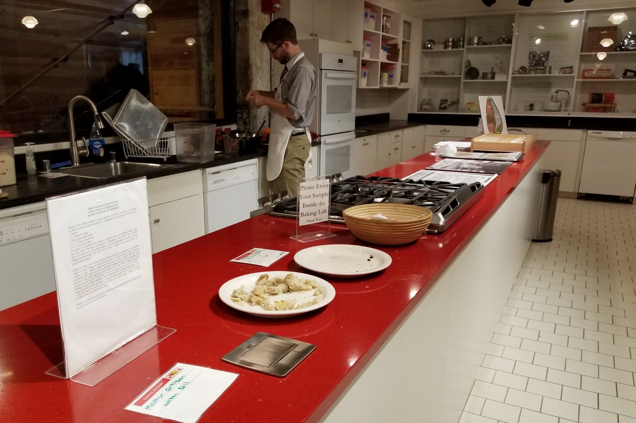The baking lab at the Mill City Museum