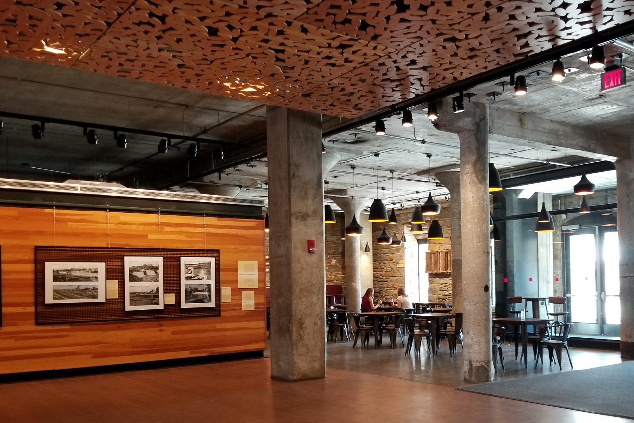 the cafe at mill city museum