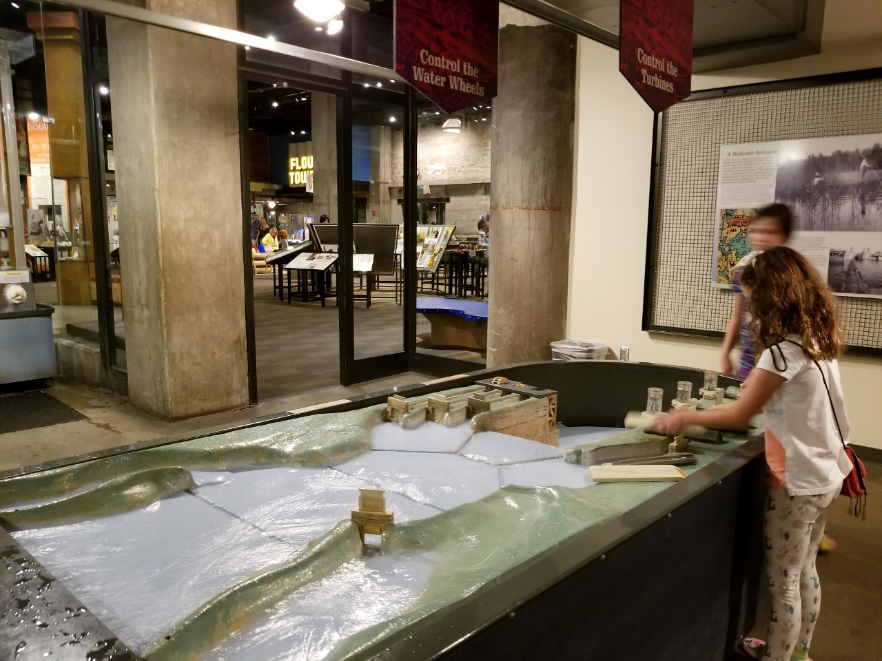 Water lab at Mill City Museum