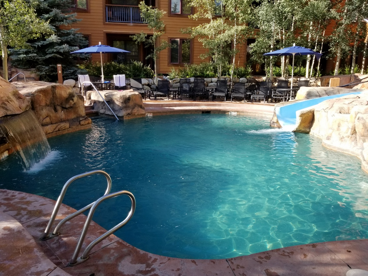 The pool at the springs at keystone resort
