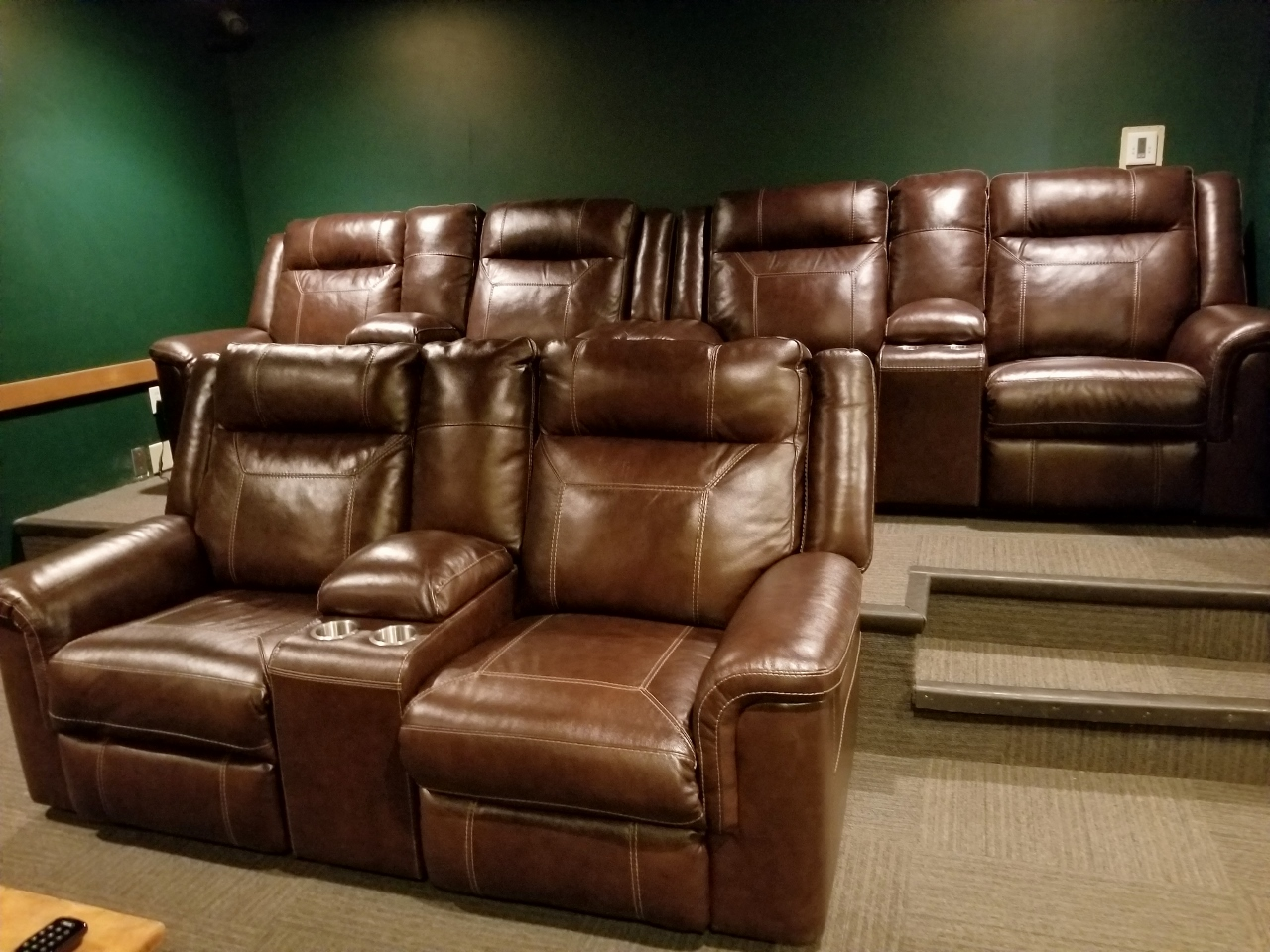 Theater room at the Springs at Keystone