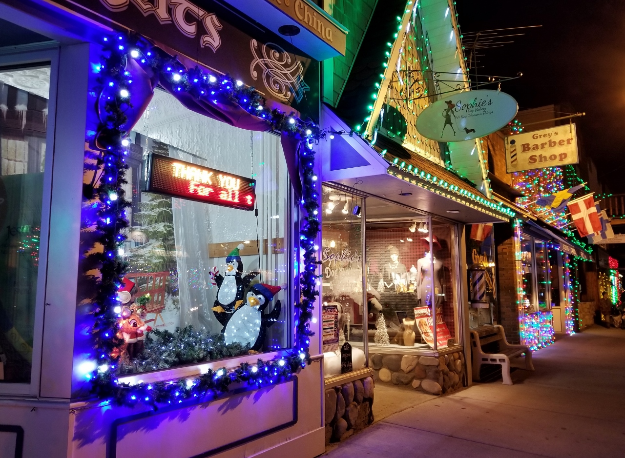main street shopping advent calendar activities