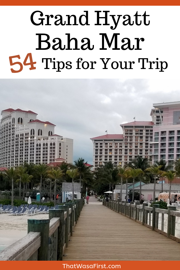 Read these tips for a fantastic trip to the Grand Hyatt Baha Mar. You'll find tips on the rooms, pools, beach, food, and activities. #Bahamas #BahaMar #Hyatt
