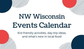 NW Wisconsin events calendar
