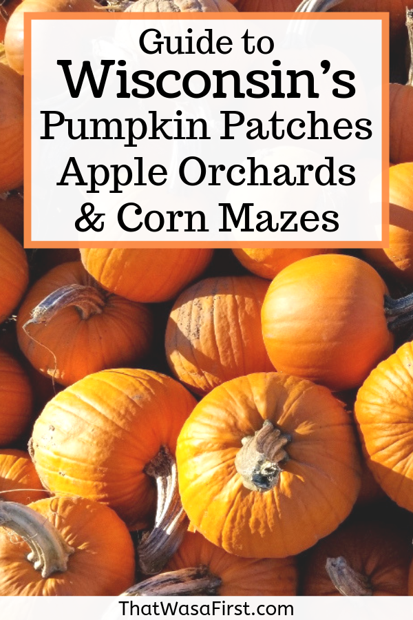 Don't miss these top pumpkin patches, apple orchards, and corn mazes that are located in Wisconsin. Fall is the best time of the year to get outdoors and have some family fun! Find out where to pick your own apples, who has the biggest corn maze, and more! #fallfun #fallactivities #wisconsin #pumpkinpatches
