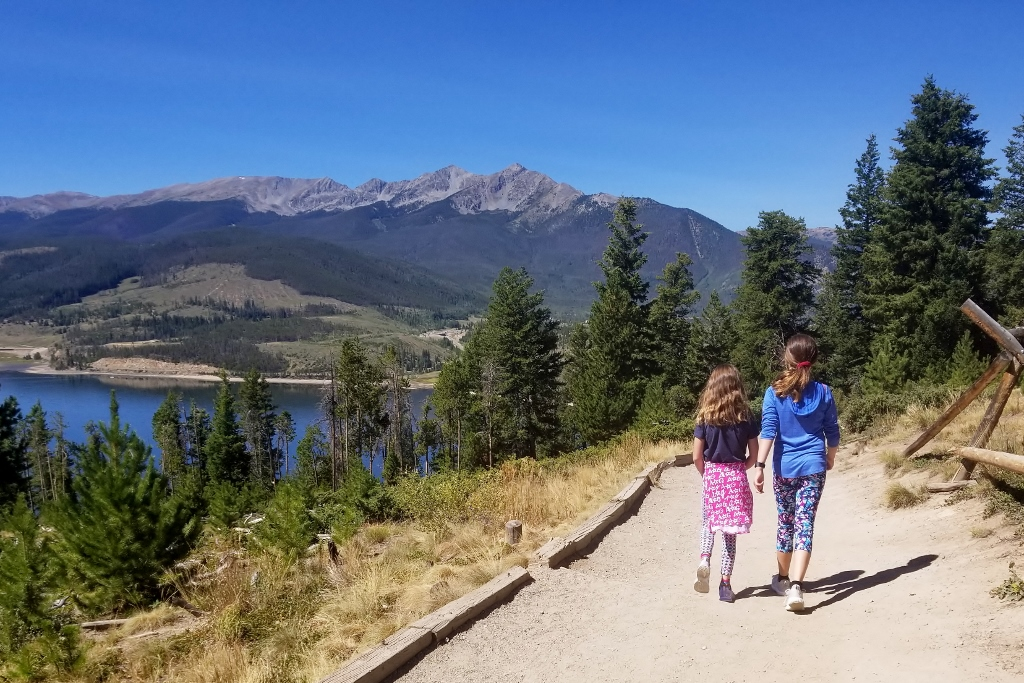 Experience gift hiking