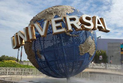 globe at universal orlando florida