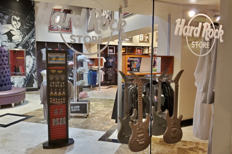 Hard Rock Store at Universal